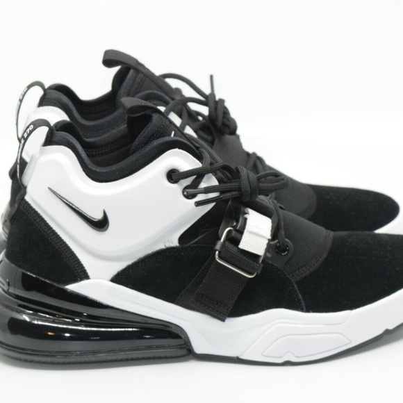 new concept ca1a8 4d64d Nike Air Force 270 Black White Suede AH6772-006